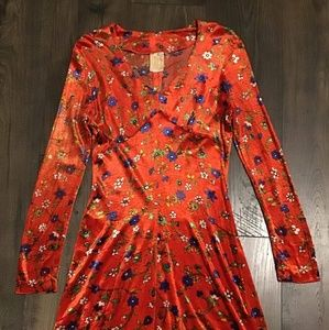 Vintage CECI Orange Dress